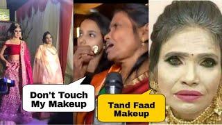 Ranu Mondal Viral Make-up | Ranu Mondal Funny Makeover | Roast