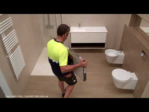 Можно ли в ванной комнате положить ламинат