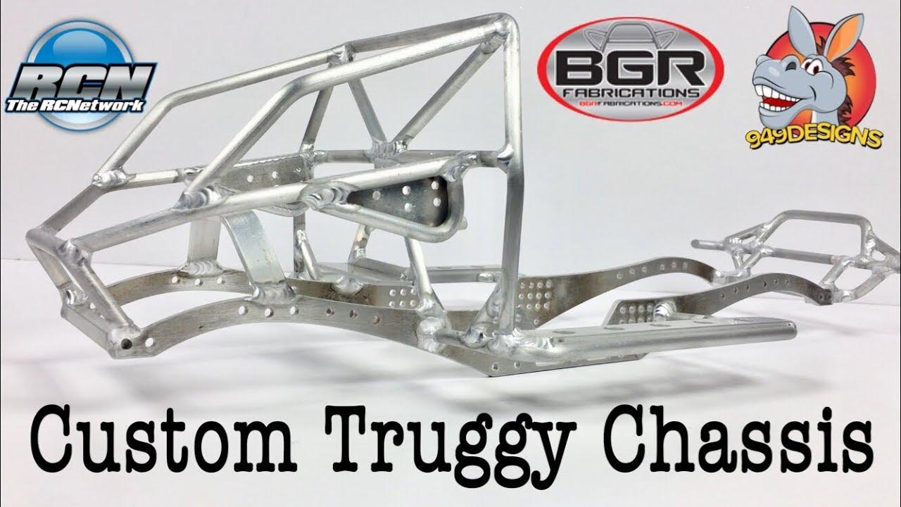 BGR Fabrications Custom 1.9 Truggy Build - EP1 - YouTube