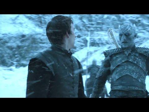 El Rey de la Noche toca a Bran Stark | Juego de Tronos Español HD