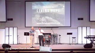 "Living Hope Church Athens | ""The Sleeping God"" 