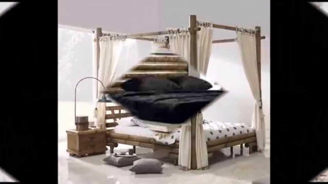 Schlafzimmermöbel Afrika Style - Wohnideen ethnisches Design - YouTube