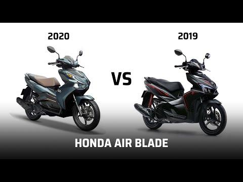 So Sánh Air Blade 2020 Và Phiên Bản Cũ