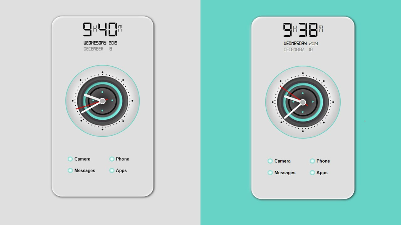 Learn How To Create A Functional Digital And Analog Time Using Javascript