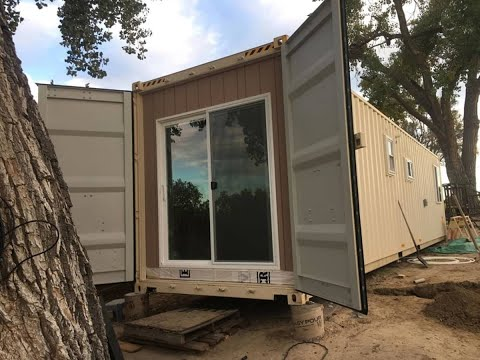 Two Bedroom Container Tiny Home