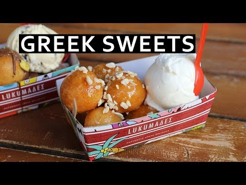 Athens Greek Sweets Street Food Tour: Must Eat Dessert and Coffee in Athens, Greece!