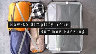 HOW-TO PACK YOUR SUMMER TRAVEL LUGGAGE | ANN LE