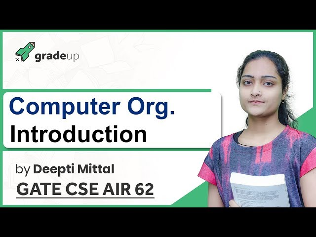 Computer Organization GATE Lectures | Basics, Weightage Analysis, Book, Syllabus | GATE 2019 CSE