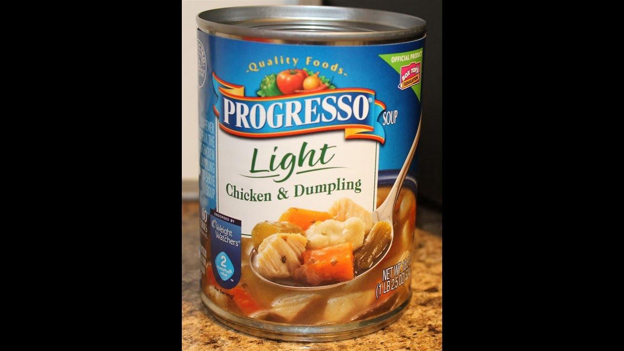 Progresso: Chicken U0026 Dumpling Food Review
