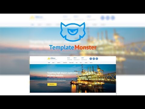 Offshore - Industrial Business Responsive WordPress Theme #64988