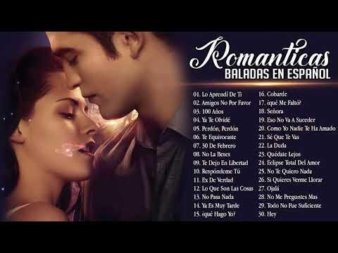 a romantica para trabajar y concentrarse 💘 Las Mejores Canciones romanticas en Espanol 2019