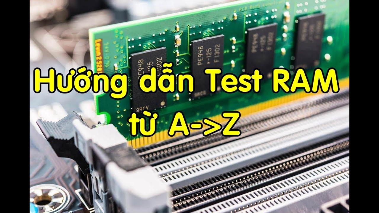 Mua ram máy tính online bạn đã bị lừa như thế nào   Hướng dẫn test RAM máy tính sử dụng memtest86