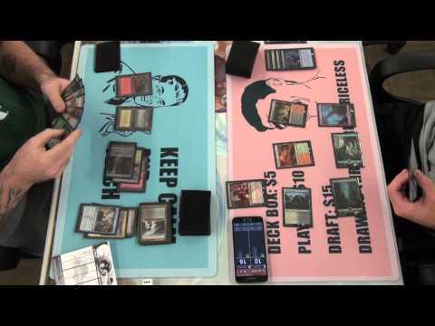 FNM 12-04-15 Round 3 Garrison Jeskai Black vs Tim Dune Control Game 1