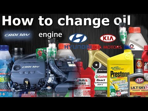 how to change oil in car youtube