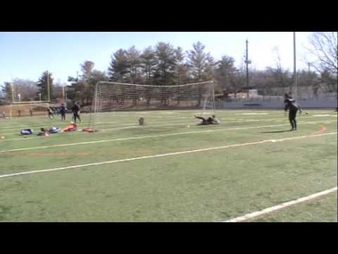 John Hollinger- Training with goalkeeper Coach Matt