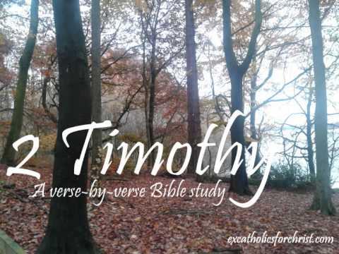 Come Study With Me: 2 Timothy (King James Version)