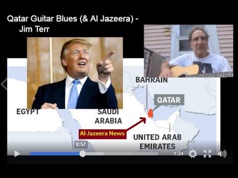 QATAR GUITAR BLUES - Jim Terr  (and see follow-up vide below)