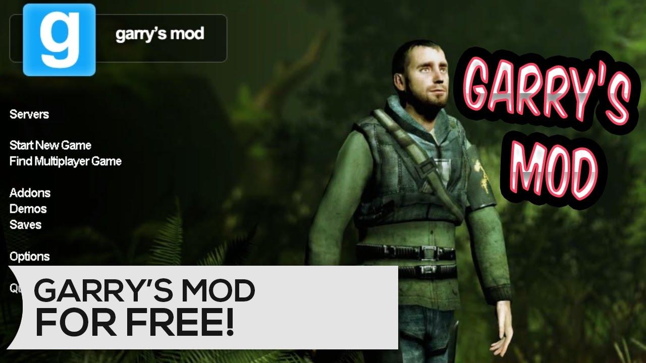 HOW TO GET GARRY'S MOD FREE 2017!