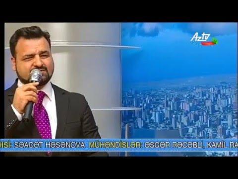 Samir Ceferov . Koroğlu operasından ifa.AZTV 10.03.2016