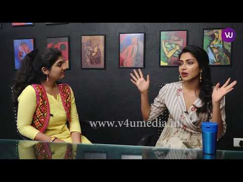 Amala Paul's Candid Chit-chat With V4U Media!