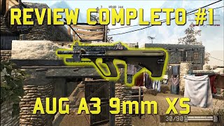 warface review completo 1 aug a3 9mm xs