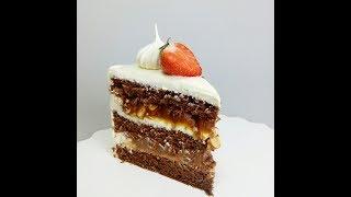 "Рецепт карамели. Сборка торта ""Крепкий орешек"" (Сникерс)"