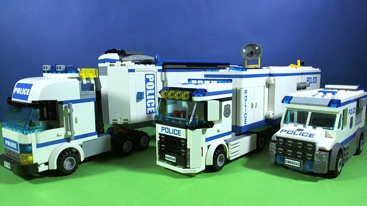 Lego city police youtube - Lego city police camion ...