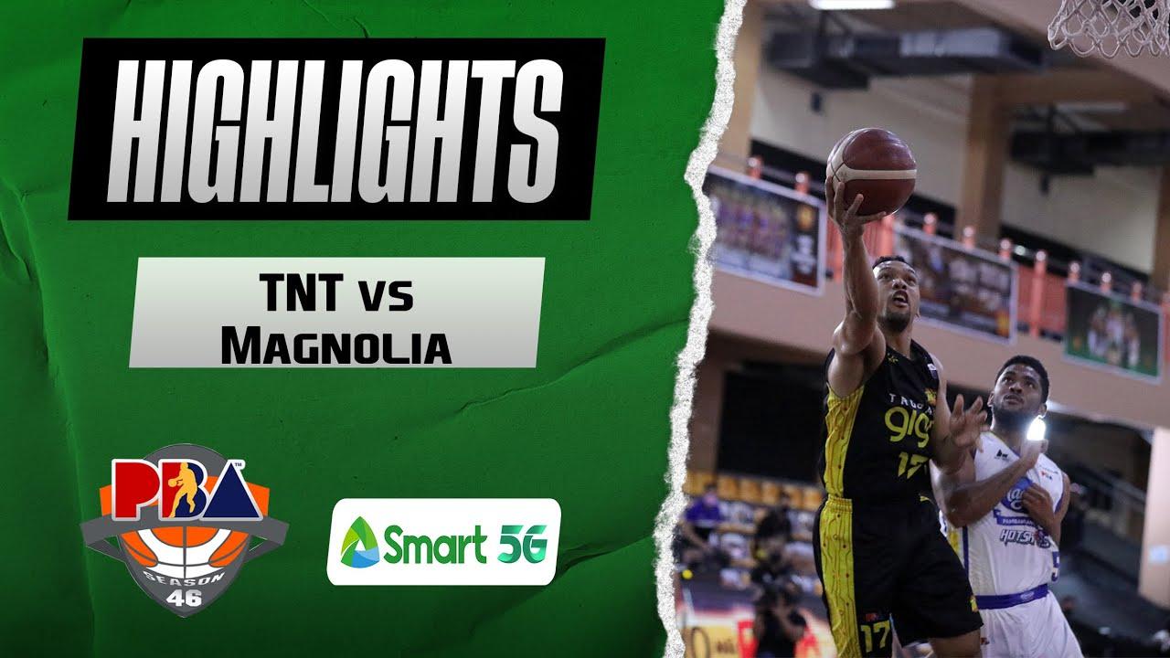 Download TNT vs Magnolia Finals Game 2 Highlights | Honda PBA Philippine Cup 2021