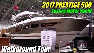 2017 Prestige 500 Yacht - Walkaround - 2017 Toronto Boat Show