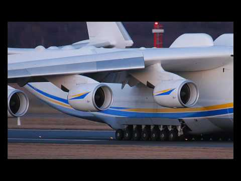 Antonov 225 Mriya the biggest plane in the world Travel Video