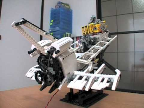 Robotic Lego Space Shuttle - YouTube