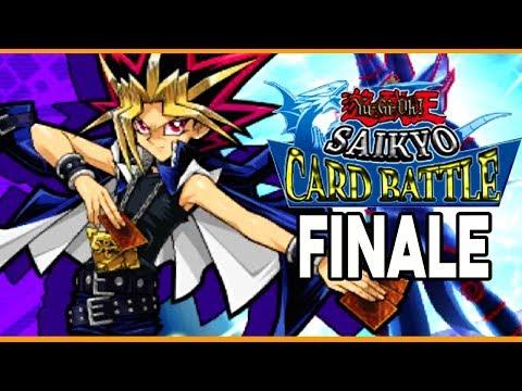 Yugioh Saikyo Card Battle 3DS English FINALE YUGI MOTO DUEL! Gameplay Walkthrough