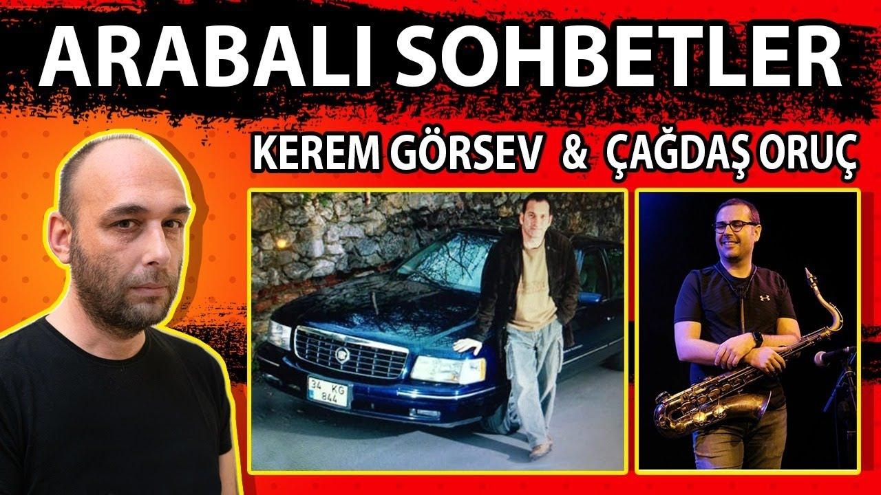 Arabalı Sohbetler S1B1 Part1 / Kerem Görsev & Çağdaş Oruç / Otomobiller ve Müzik