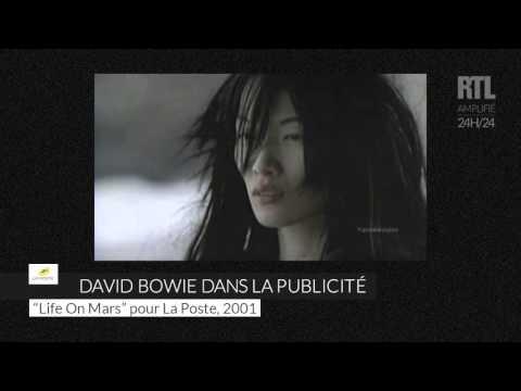 David Bowie et la publicité - RTL - RTL