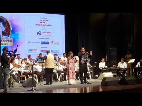 """Na Tum Hamein Jaano - Sadhana Sargam Live Performance In """"Suman Kalyanpur Sangeet Rajani"""""""