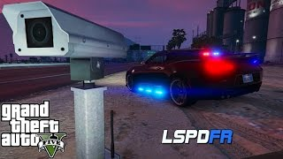 GTA 5 LSPDFR - Unmarked Police Camaro - New Radar