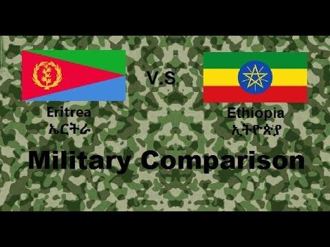 Ethiopia VS Eritrea Military Comparison 2016 2017