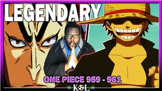 Born To Be Legendary | One Piece Manga Chapter 959 - 961 LIVE REACTION - ワンピース