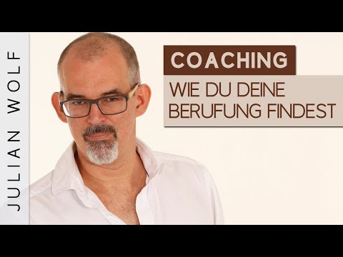 Die Berufung finden - Coaching mit Julian Wolf