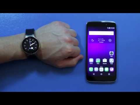 ALCATEL ONETOUCH Watch - How To Pair with Smartphone Using Bluetooth