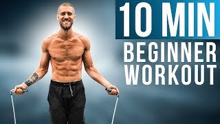10 Min Beginner Jump Rope Workout