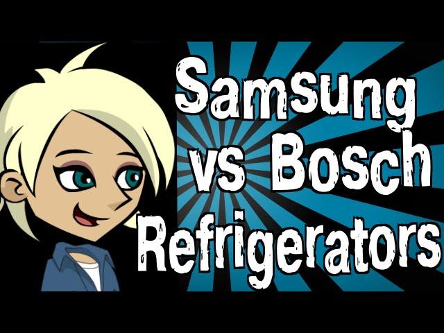 сравнение холодильников самсунг и бош
