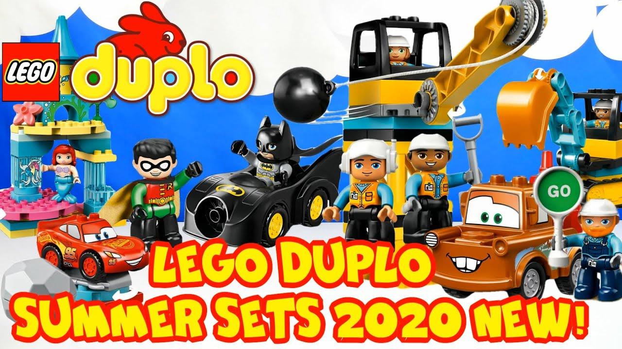 LEGO DUPLO Summer Sets 2020 NEW! (Новые наборы ЛЕГО ДУПЛО ...