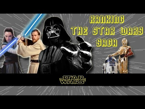 Ranking The Star Wars Saga!