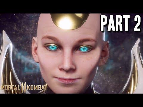 MORTAL KOMBAT 11 Full Story Mode Walkthrough Gameplay Part 2 - KRONIKA IS OP WTF