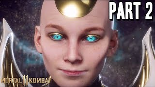 MORTAL KOMBAT 11 Full Story Mode Walkthrough Gameplay Part 2 - KRONIKA IS OP WTF