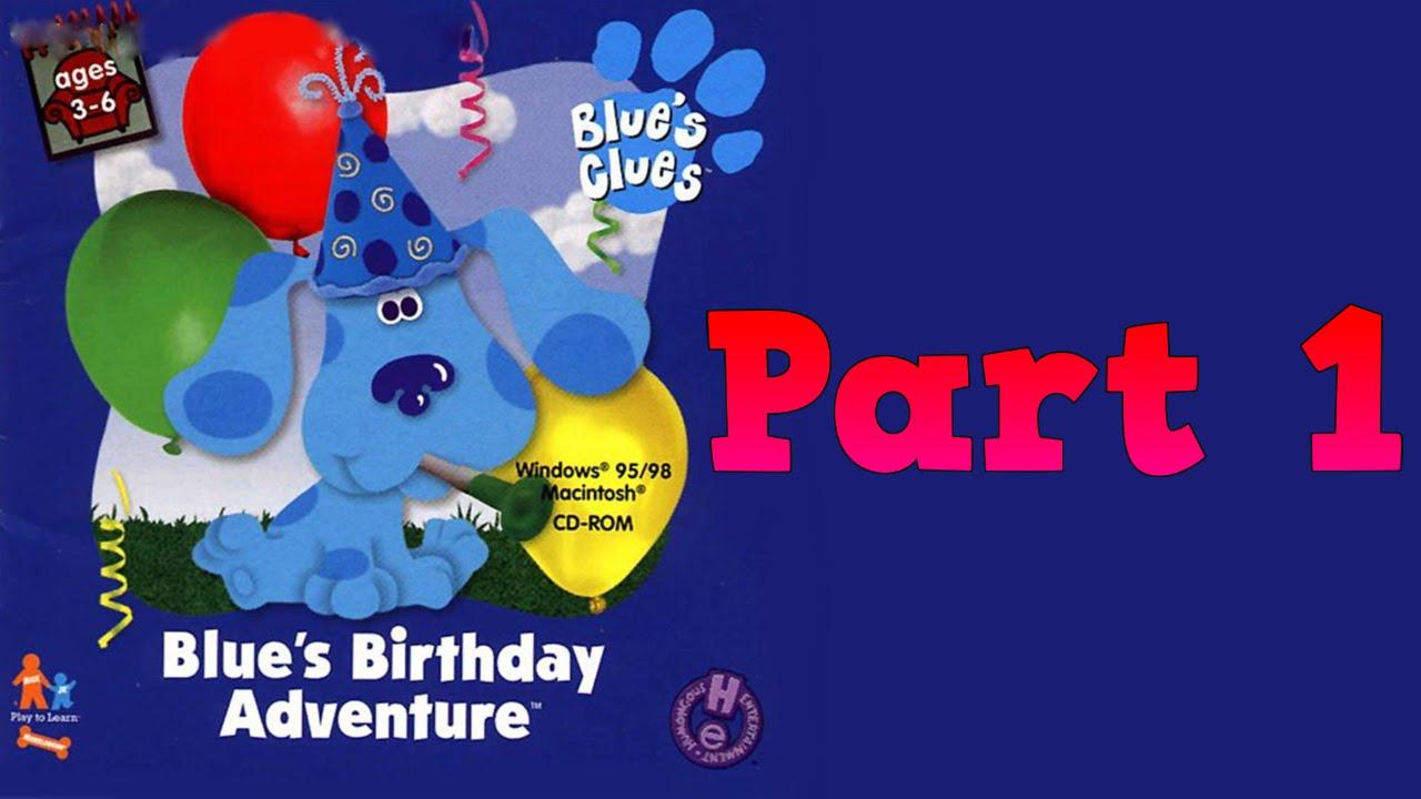 Whoa I Remember Blues Birthday Adventure Yellow Part 1 YouTube – Blues Clues Birthday Card