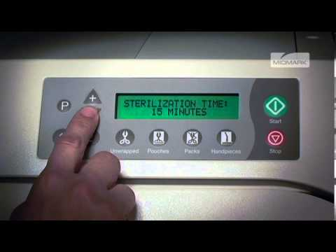 How to program a Ritter M9/M11 Autoclave