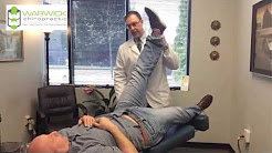 """Big Guy"" Really Gets ""The Treatment"" With Back Pain Sciatica Leg Pain Lacey WA Chiropractor"