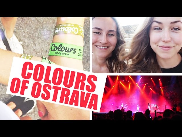 VLOG | Colours of Ostrava!